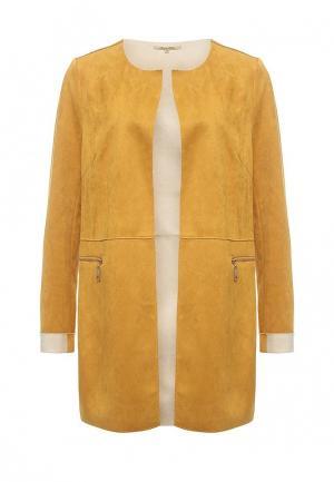 Пальто Sweet Miss. Цвет: желтый