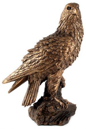 Фигурка декоративная Орел Русские подарки. Цвет: бронзовый