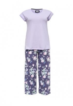 Пижама Evans. Цвет: фиолетовый