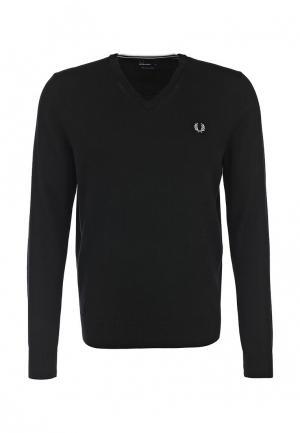 Пуловер Fred Perry. Цвет: черный