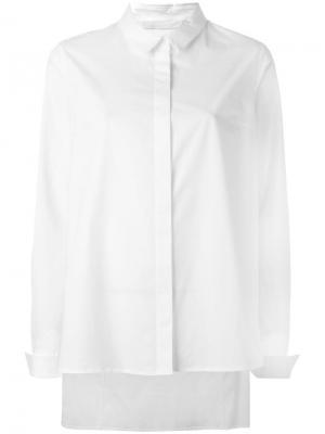 Рубашка Simple Demoo Parkchoonmoo. Цвет: белый