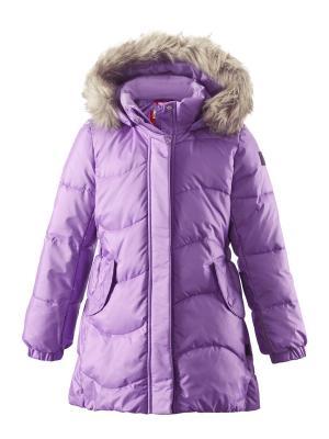 Пальто Reima. Цвет: фиолетовый