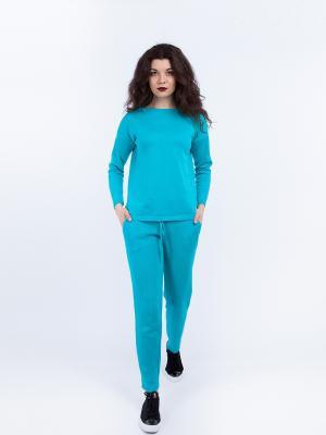 Костюм (джемпер+штаны) Sava. Цвет: бирюзовый