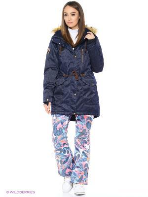 Куртка Stayer. Цвет: коричневый, черный, темно-синий