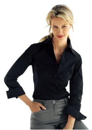 Блузка-боди VIVANCE. Цвет: белый, голубой, розовый, черный