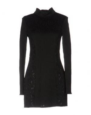 Короткое платье ANTHONY VACCARELLO. Цвет: черный