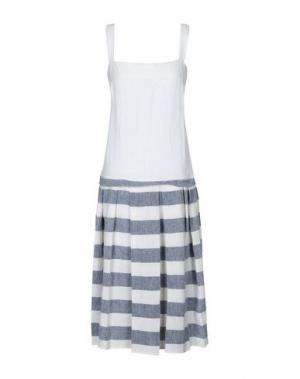 Платье длиной 3/4 A.B APUNTOB. Цвет: синий