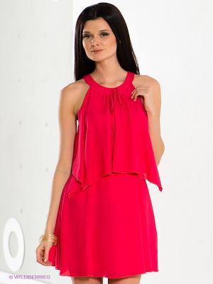 Платье COMPAGNIA ITALIANA. Цвет: фуксия