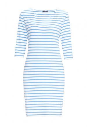 Трикотажное платье 170642 Saint James. Цвет: разноцветный
