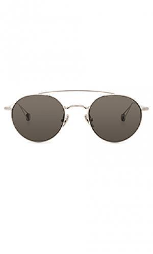 Солнцезащитные очки bastille Ahlem. Цвет: металлический серебряный