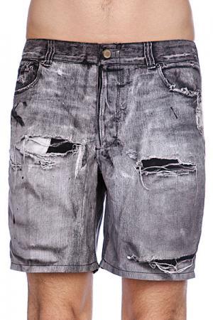 Пляжные мужские шорты  Stone Free Black Insight. Цвет: серый