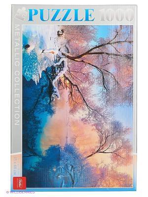 Пазл 1000 эл. Морозное утро Издательство Хатбер-пресс. Цвет: белый