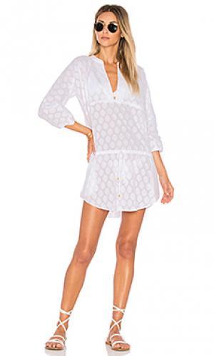 Платье cristina Vix Swimwear. Цвет: белый