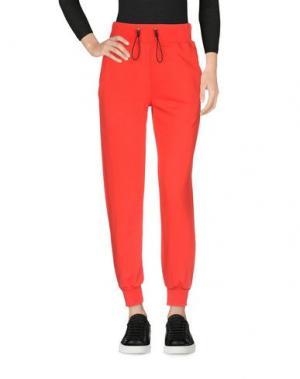 Повседневные брюки HYDROGEN. Цвет: красный