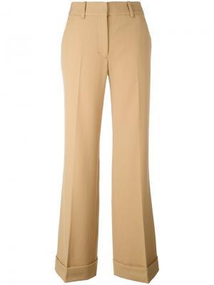 Классические расклешенные брюки 3.1 Phillip Lim. Цвет: телесный