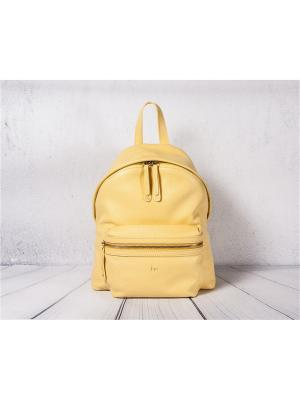 Рюкзак Frija. Цвет: желтый