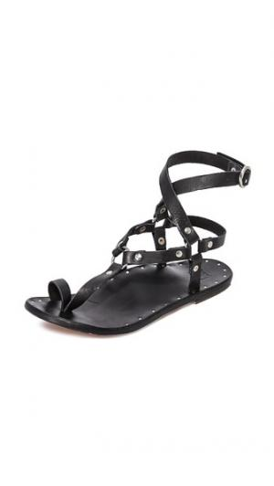 Гладиаторские сандалии Lark beek. Цвет: черный/черный