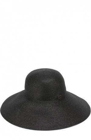 Шляпа с широкими полями Eric Javits. Цвет: черный
