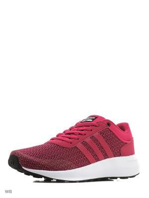 Кроссовки CLOUDFOAM RACE W  BOPINK/BOPINK/FTWWHT Adidas. Цвет: розовый, белый