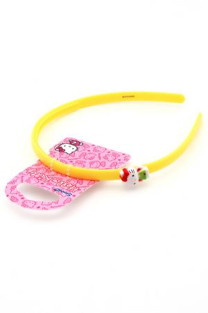 Ободок Hello Kitty. Цвет: желтый