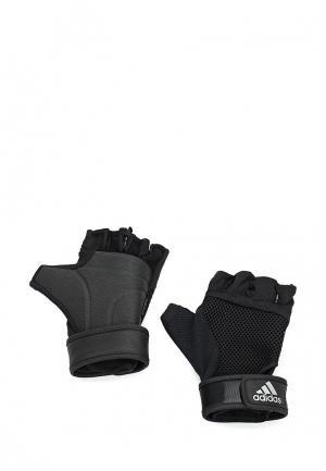 Перчатки для фитнеса adidas Performance. Цвет: черный
