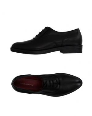 Обувь на шнурках ANGELA GEORGE. Цвет: черный