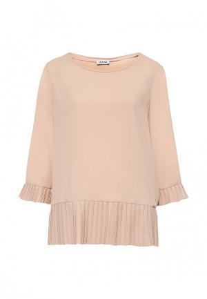 Блуза Liu Jo Jeans. Цвет: бежевый
