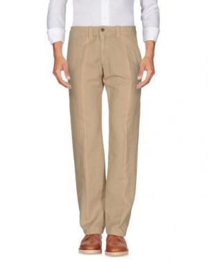 Повседневные брюки MARLBORO CLASSICS. Цвет: песочный