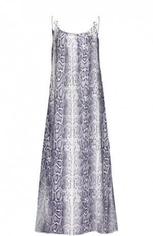 Платье Heidi Klein. Цвет: синий