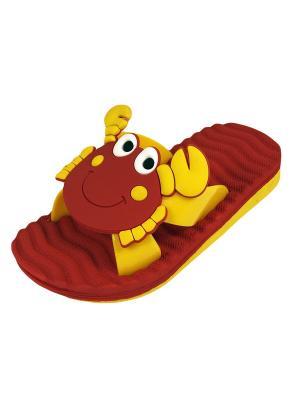 Пантолеты TINGO. Цвет: красный, желтый