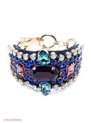 Браслет Kameo-bis. Цвет: синий, зеленый, голубой, фиолетовый