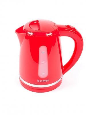 Чайник Endever. Цвет: красный