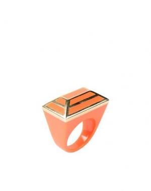 Кольцо ISHARYA. Цвет: оранжевый