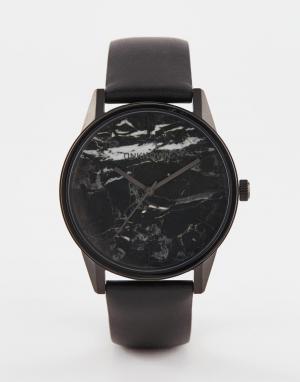 UNKNOWN Черные часы Urban Marble. Цвет: черный