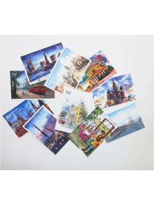 Набор акварельных открыток №2 Даринчи. Цвет: белый