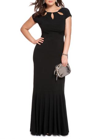 Платье Rebecca Bella. Цвет: black