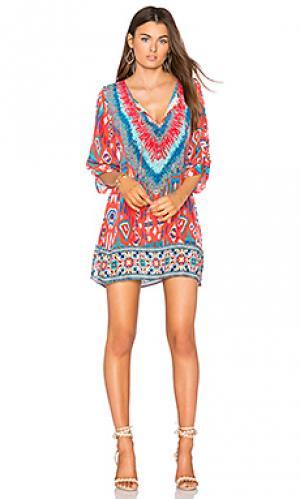 Платье felisity Tolani. Цвет: красный