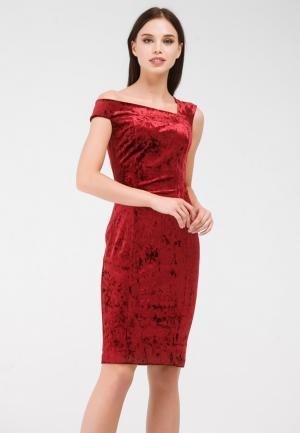 Платье Krismarin. Цвет: бордовый
