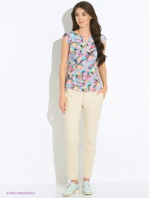Блузка SUGARLIFE. Цвет: салатовый