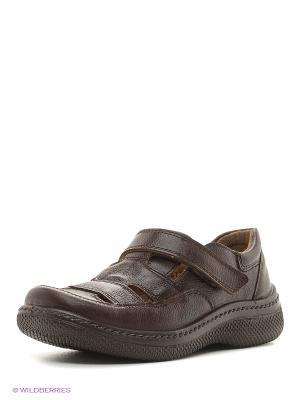 Туфли San Marko. Цвет: коричневый