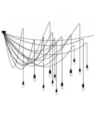 Подвесная лампа SELETTI. Цвет: черный