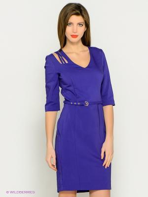 Платье BOVONA. Цвет: фиолетовый