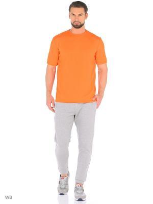 Футболка Агат. Цвет: оранжевый