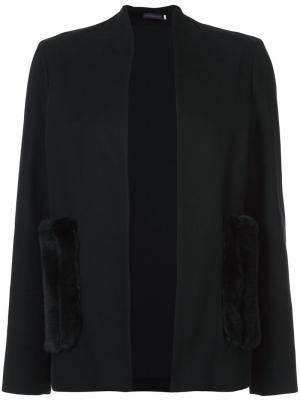 Блейзер с карманами Harvey Faircloth. Цвет: чёрный