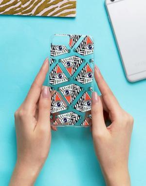 Skinnydip Чехол для iPhone 6/6S/7 с принтом. Цвет: мульти