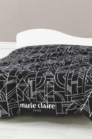 Покрывало, 200х220 Marie claire. Цвет: black and white