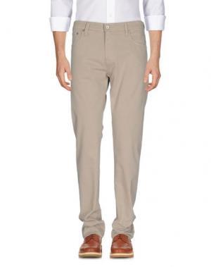 Повседневные брюки AG ADRIANO GOLDSCHMIED. Цвет: бежевый