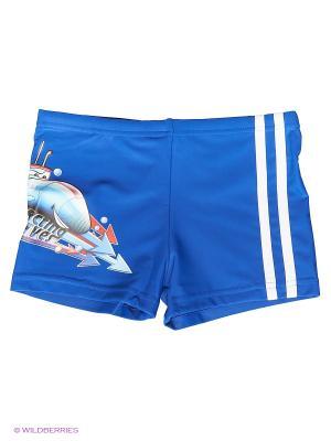 Плавки-шорты SUBMARINE Mad Wave. Цвет: синий