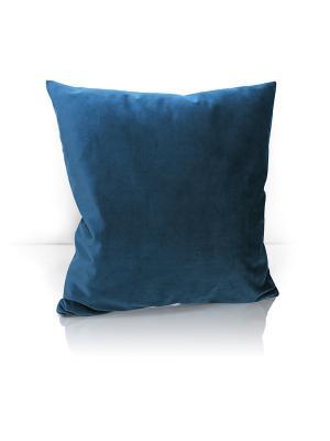 Декоративная подушка Solemare Kauffort. Цвет: темно-синий