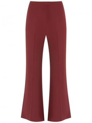 Cropped wide leg trousers Andrea Marques. Цвет: красный